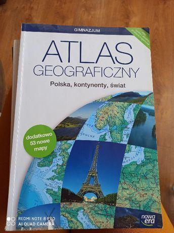 Atlas geograficzny Nowa Era gimnazjum