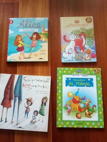 Livros infantis para venda
