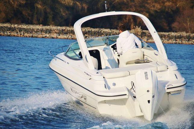 Motorówka. Jacht motorowy Viper 750. Nowy 2021. Silnik zaburtowy.