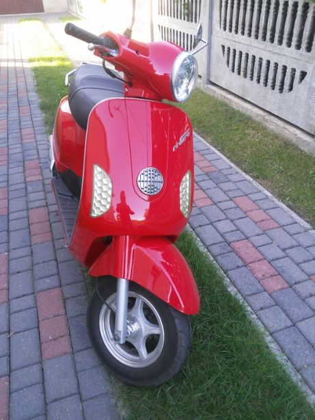 skuter motobi toscana riviera zarejestrowany , mały przebieg