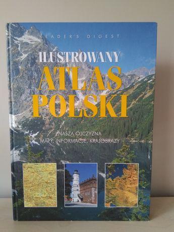Sprzedam ilustrowany atlas Polski