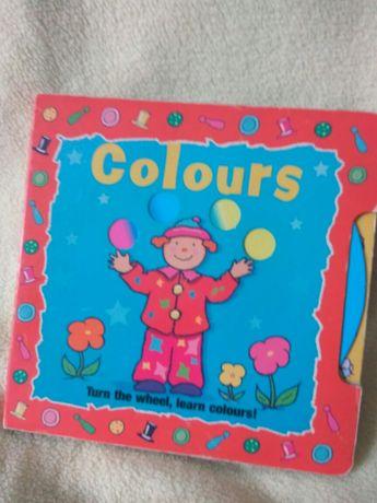 Книга про цвета на английском