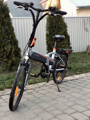 Електро Велосипед Btwin складной