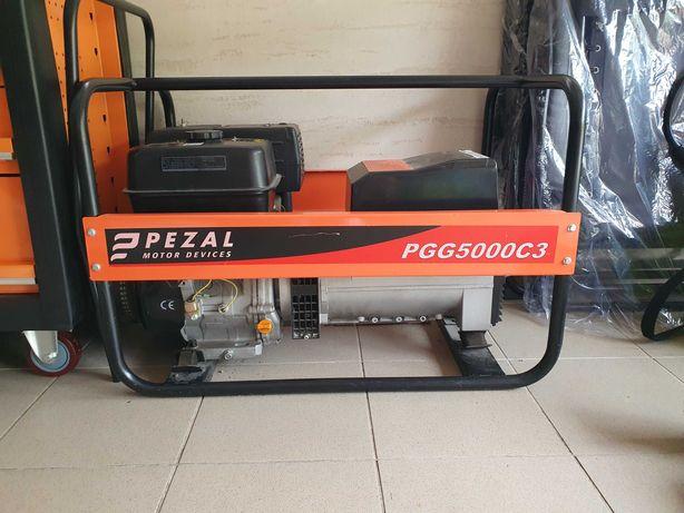 Agregat prądotwórczy trójfazowy PGG5000C3 PEZAL