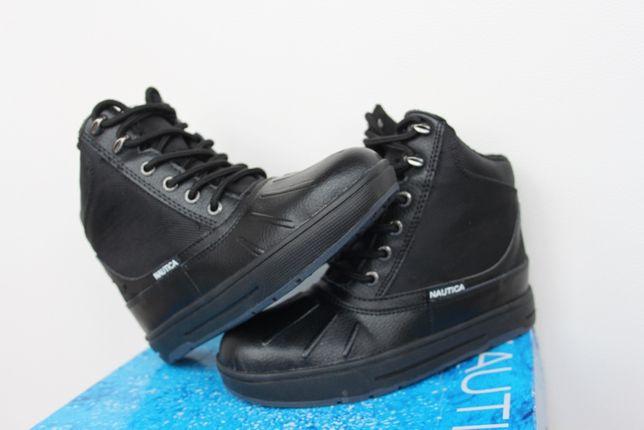 Новые зимние кожаные ботинки Nautica р-р 32, стелька 21см