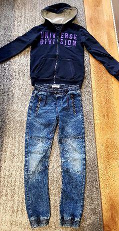 "Bluza ""Reserved"" + jeansy rozm.152"