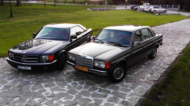 Samochód do ślubu Mercedes