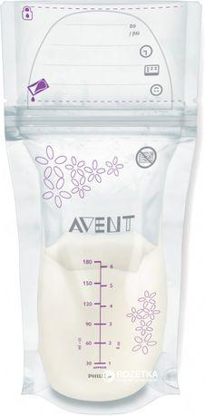 Пакеты avent для хранения грудного молока 25 шт.