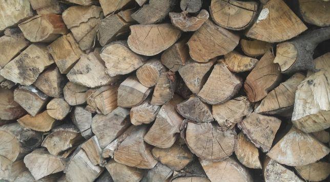 Drzewo drewno kominkowe suche mix liściasty sezonowane transport