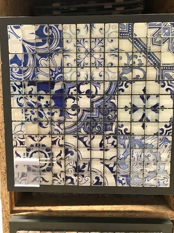 OBI Mozaika szkl. Retro Blau 30x30cm obniżka z 59,99zł na 29,99zł