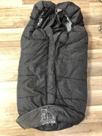 Зимний тёплый мешок- конверт Eisbarchen  (коляска, санки)