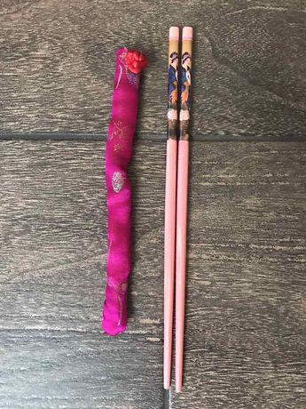 Палочки для еды суши Китай Япония Корея Вьетнам Азия девушка гейша