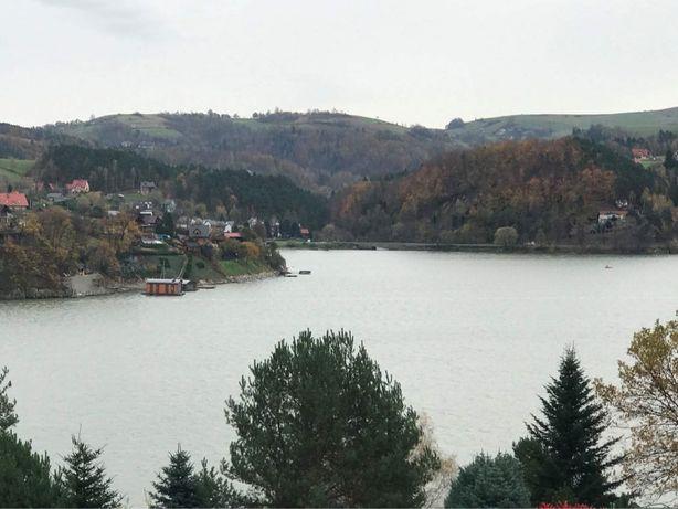 Działka nad jeziorem Rożnowskim w Znamirowicach