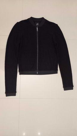Elegancka czarna bluza Reserved rozm 38 narzutka