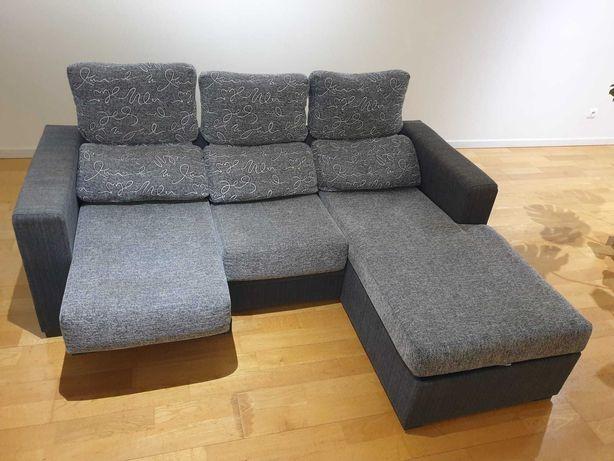 Sofá para 4 pessoas, otimo estado