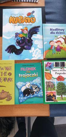 Oddam książeczki dla dzieci w wieku 4-9lat