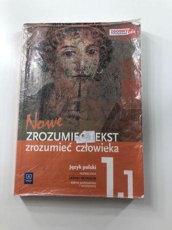 Podręcznik polski zrozumieć człowieka 1.1
