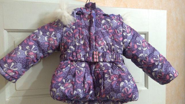 Куртка для дівчинки зима