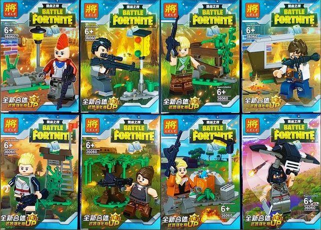 Klocki fortnite figurki zestaw 36060 lele jak lego