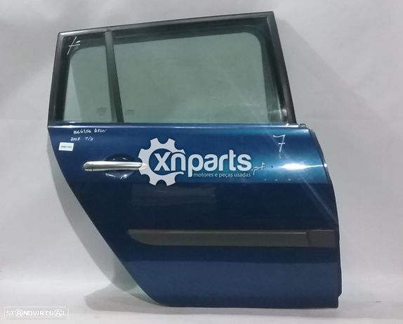 Porta Trás Dto RENAULT MEGANE II Carrinha 2003 - 2009 Azul Usado