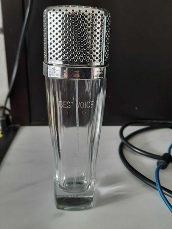 Pusty flakon po perfumach Best Voice (mikrofon)