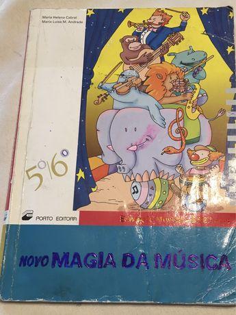 Livro em segunda mão. Magia da Música 5/6 Ano