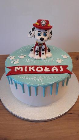 Figurka na tort Psi patrol Marshall