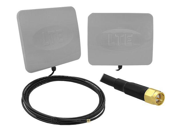 Antena DUAL LTE 4G 12dBi Pionowa i pozioma SMA