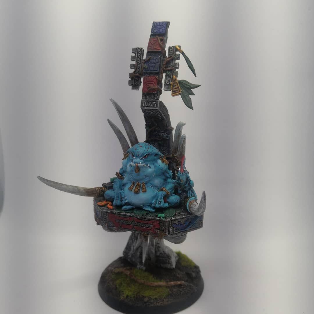 Figurki warhammer 40k, Age of Sigmar (Malowanie i teren)