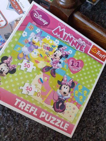 Puzzle Minnie 50 plus 50