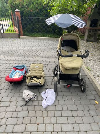 Wózek dziecięcy 3w1 GRATIS