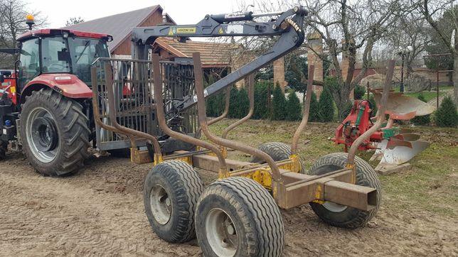Przyczepa leśna renomowanej firmy FTG BALTIC - Zamiana