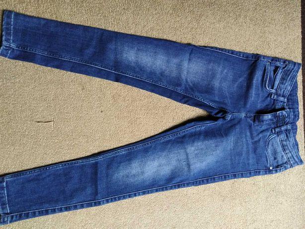 Spodnie jeansowe 134 C&A