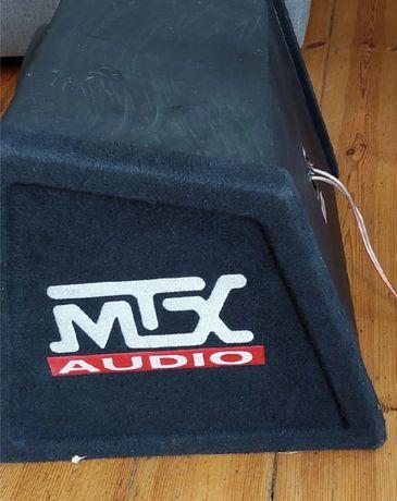 Głośnik basowy Tuba subwoofer MTX+WZMACNIACZ