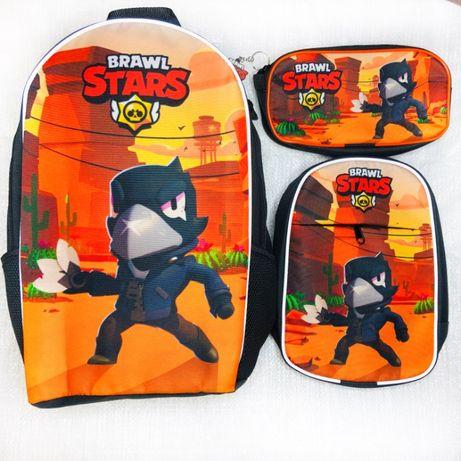 Набор: рюкзак для школы, сумка для прогулок, пенал - розница,опт