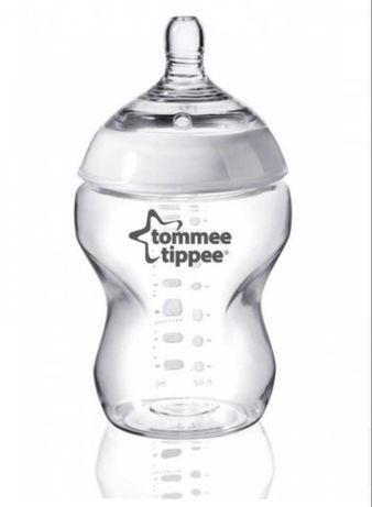 Butelki nowe 0m+ tommee tippee 260ml 2 sztuki