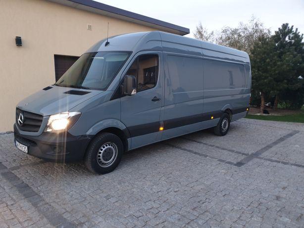 Wynajem busa / dostawcze 24/h Mercedes Sprinter Toruń