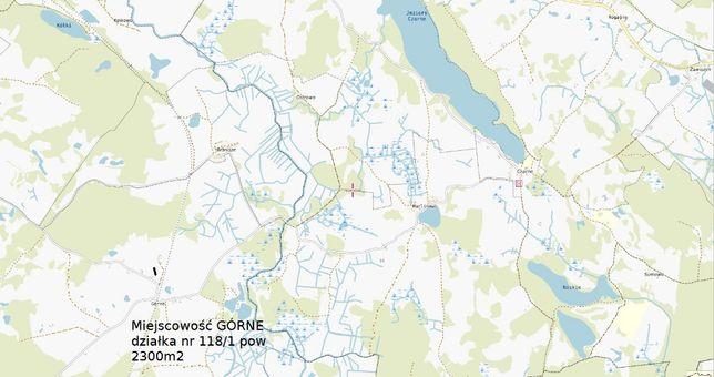 Gołdap miejscowość Górne okolice Puszcza Romincka