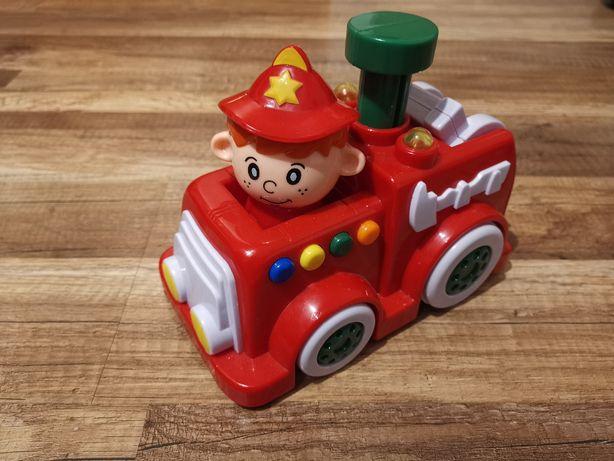 Smiki straż pożarna , zabawka interaktywna w stanie idealnym.