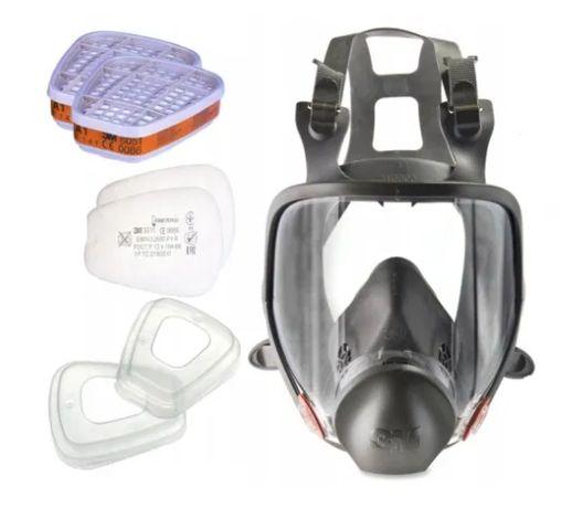 Maska 3m 6800 gazowa lakiernicza lublin filtr pochłaniacz 6051 FV 23%
