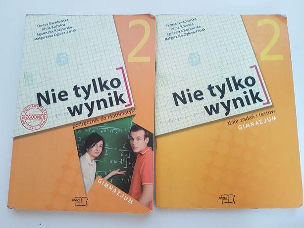 Nie tylko wynik 2 podręcznik zbiór zadań i testów do matematyki