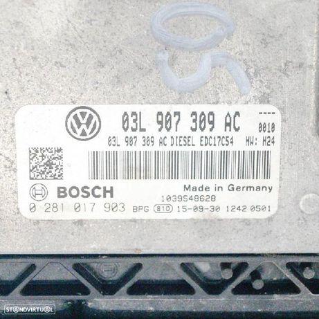 AUDI: 0281017903 , 03L907309AC Centralina do motor AUDI A4 (8K2, B8) 2.0 TDI