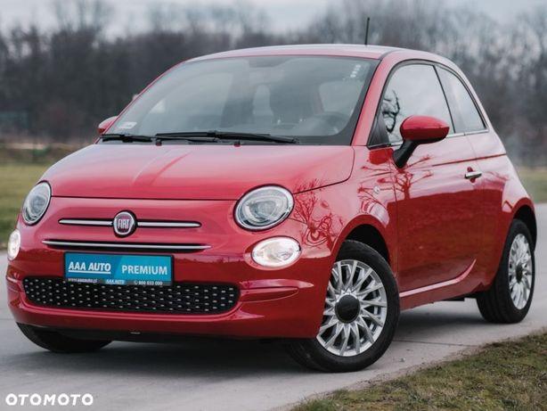 Fiat 500 1.2, Salon Polska, 1. Właściciel, Serwis ASO, Klima, Tempomat