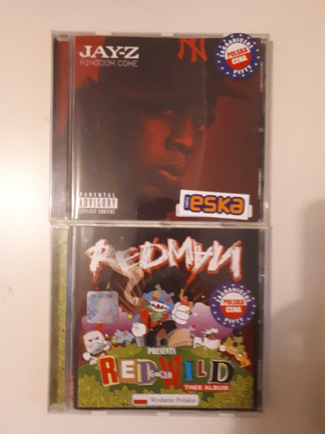Jay z kingdom come redman red gone wild płyta cd jak nowa bez rys