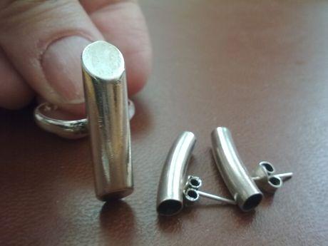 Pierścionek - srebro