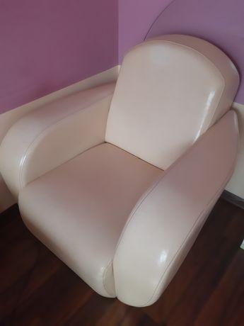 Fotele ze skóry ekologicznej