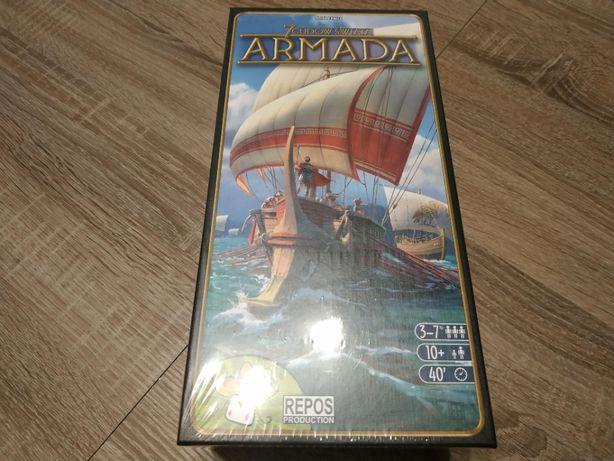 [NOWA] 7 Cudów Świata: Armada (stara edycja) - gra planszowa