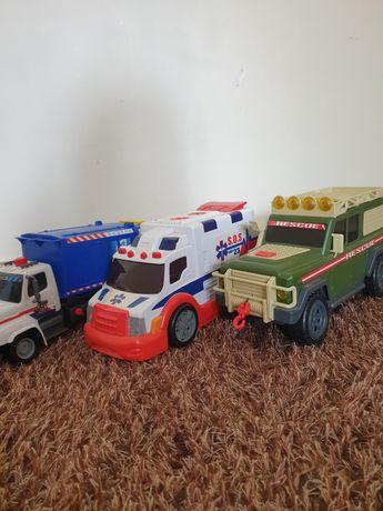 Carro de brincar,Ambulancia,Reciclagem, Jeep militar