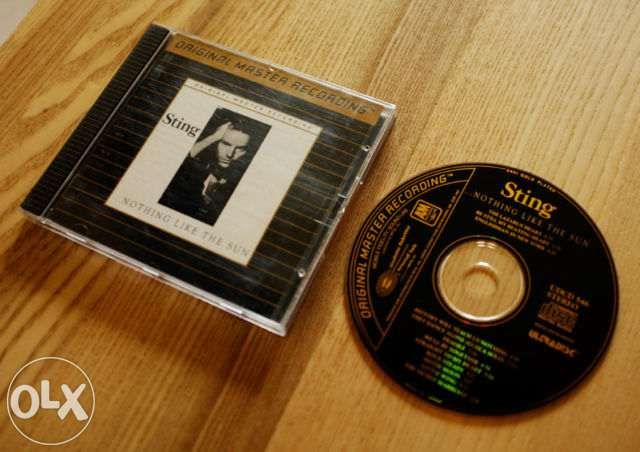 Sting - Nothing Like The Sun - MFSL 24Kt gold CD