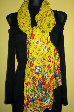 chusta/szal/pareo LV duża intensywne kolory na wiosnę